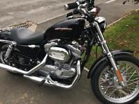 Harley Davidson sportser super low mileage