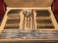 72 Piece Stainless Steel Cutlery Set - New and Unused
