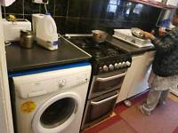 Washing machine, gas cooker,gas fan white and silver one,mirco.