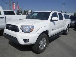 2015 Toyota Tacoma V6 | Leather | Canopy | Nav | Bluetooth