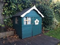 Cute wooden Wendy House, free to collect