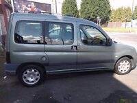Peugeot Partner Combi MPV like small van Tepee and Citroen Berlingo Multispace