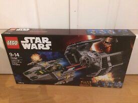 Lego Starwars vaders tie advanced vs A-wing starfighter 75150 brand new!