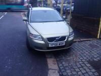 2009 58reg Volvo V50 1.8 Petrol Cheapest In U.K. Full service history