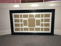 Picture Frame (Black Wood)