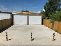 Double garage to rent with parking in Whitstable
