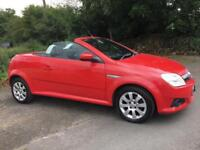 VAUXHALL TIGRA CONVERTIBLE 2007 ***ONLY 49000 MILES ***MOT MAY 2018***