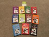 Diary of a Wimpy Kid Collection of Books 11 books In total
