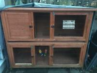 Pets At Home 'Rose Cottage' Hutch for Rabbits & Guinea Pigs