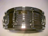 "Pearl 4214 Custom COB snare drum 14 x 5 1/2"" - Japan - '70s _ Ludwig 400 homage"