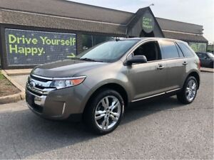 2014 Ford Edge SEL / LEATHER / SUNROOF / NAVIGATION