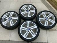 "19"" Inch Range Rover Evoque Alloy Wheels & Tyres 235x40x19 5x108"