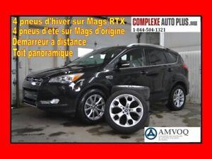 2015 Ford Escape Titanium AWD 4x4 *Navi/GPS,Cuir,Toit pano.