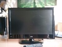 """Alba 19"""" HD Ready Digital LCD TV with built in DVD player £40 collection only"""