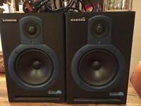 Samson Resolv 65a active studio monitors