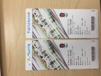 England v Ireland 6 Nations tickets x2 Sat 17th March