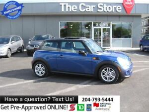 2013 MINI Cooper Cooper - sunroof LEATHER HTD usb 1OWNER