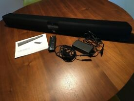 Roth Sub Zero II TV soundbar with Bluetooth APT-X with remote, cable and manual
