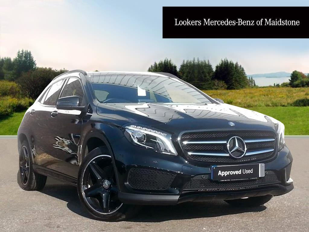 mercedes benz gla class gla 220 d 4matic amg line premium black 2016 07 01 in maidstone. Black Bedroom Furniture Sets. Home Design Ideas