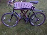 large 21 gear Ridgeback mountain bike