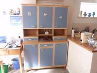 2 Piece Kitchen dresser as new VGC ideal for small kitchen.