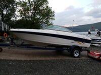 Four winns luxury speedboat bowrider 3.0 merc 2007 deep sides