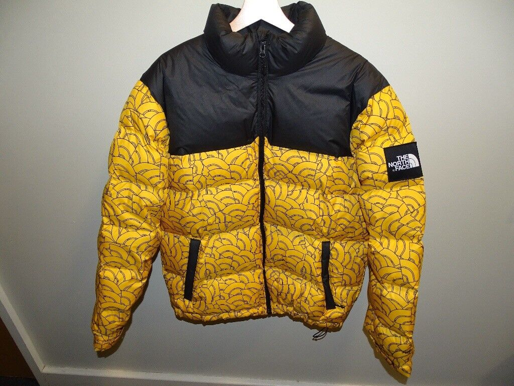 North Face Nuptse Jacket TNF yellow  d0b5a34d8