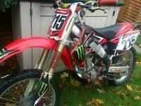 2008 honda crf 250 mx