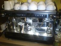 Rancilio Classe 7, 2 Group, Espresso Machine + Grinder + Knock Out Drawer