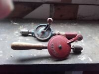 Various old hand tools