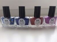 12 CIATE NAIL POLISHES AND GLITTERS. £1 EACH!!! (or offers)