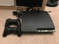 PS3 120GB with 2 controllers