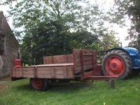 Vintage trailer -