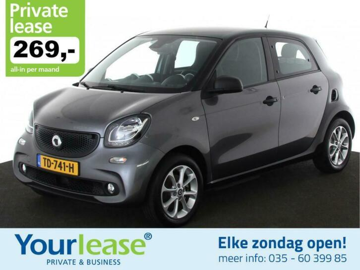 Smart Forfour Electric | 269,- euro All-in private lease