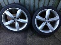 """Audi/golf 18"""" alloy wheels"""