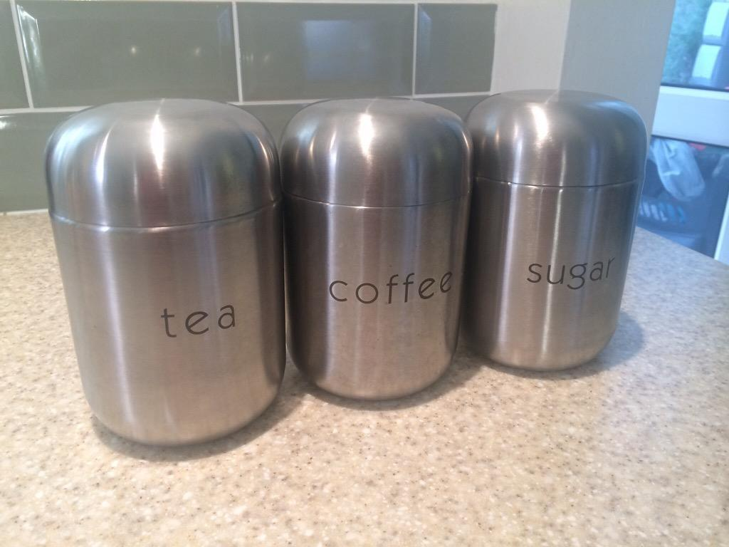 Next Chrome Storage Canisters in Gloucestershire Gumtree : 86 from www.gumtree.com size 1024 x 768 jpeg 68kB