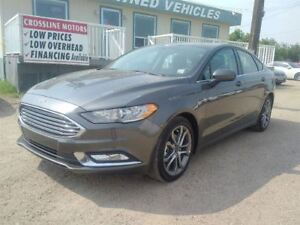 2017 Ford Fusion Leather - Sunroof - Back-up Camera
