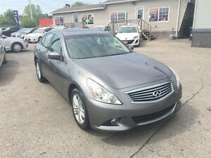 2012 Infiniti G37X Sport | LEATHER | ROOF | AWD | CAM London Ontario image 2
