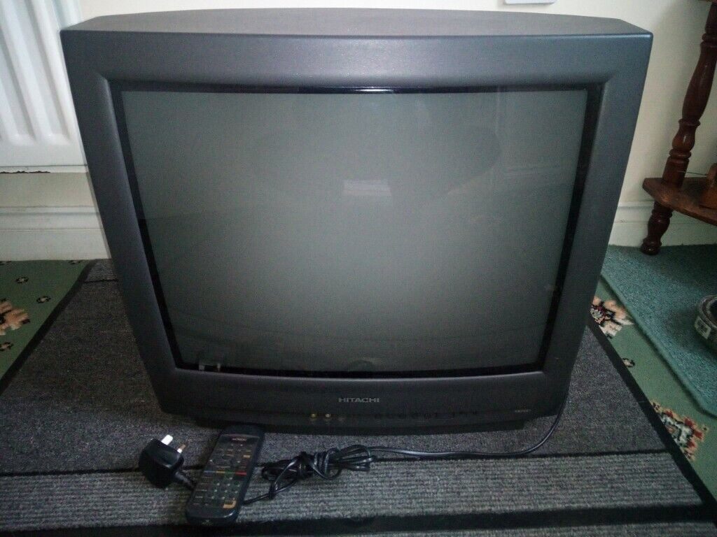 Hitachi C2117 Colour Crt Tv Remote Control In Good Working Order In Chatham Kent Gumtree
