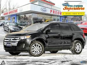2014 Ford Edge SEL AWD, leather, NAV<<<<