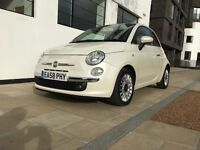 Fiat 500 1.2 Lounge 3dr | Automatic | Red Leather Seats | £30 Tax | Full Service His