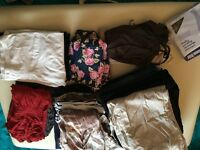 Big bundle of maternity clothes size 10/12 roughly