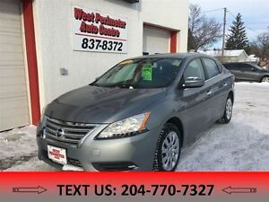 2014 Nissan Sentra 1.8 S **Bluetooth, great fuel economy**