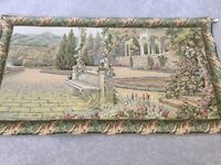 Beautiful Woven Tapestry with Hanging Pole