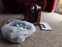 Bosch Tassimo TAS 43 complete with Instructions and bag full of pods
