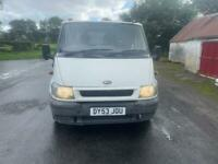 2300 for quick sale Ford transit tipper 3/ way
