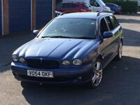2005 JAGUAR X TYPE 2.0D SPORT ESTATE TOURER LEATHER 2 KEYS X-TYPE S TYPE DIESEL LONG MOT