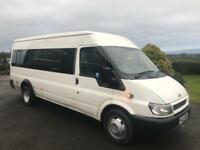 2005 Ford Transit 2.4 Diesel / 17 seater minibus / trade in accepted