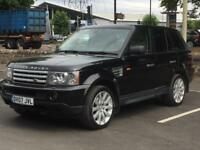 RANGE ROVER SPORT 2007(07) 3.6 TDV8 HSE*£7999*FULL DEALER HISTORY*LOW MILES*TOP SPEC*PX WELCOME*