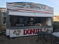 Large Burger Van / Trailer - Ready to go - 5 STAR rated